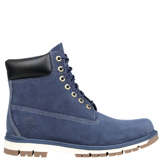MEN'S TIMBERLAND RADFORD Blue Leather 6 Inch Boots US 9 M