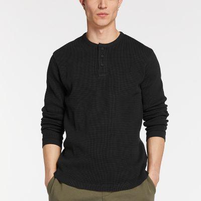 Men's Slim Fit Henley Shirt
