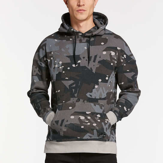 Men's Wharf River Waffle-Knit Hoodie