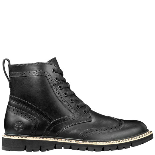 men 39 s britton hill wingtip boots timberland us store. Black Bedroom Furniture Sets. Home Design Ideas