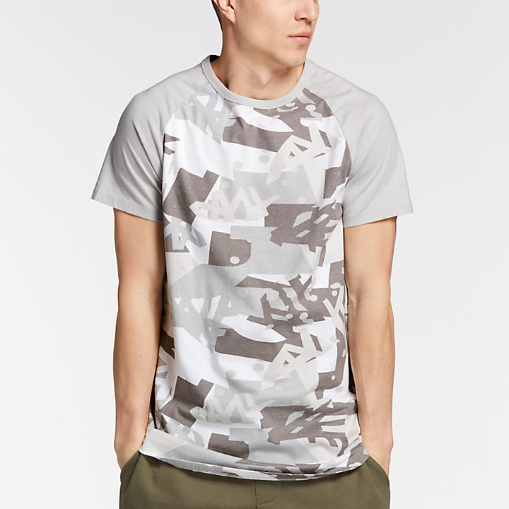 Men's Camo Graphic T-Shirt-