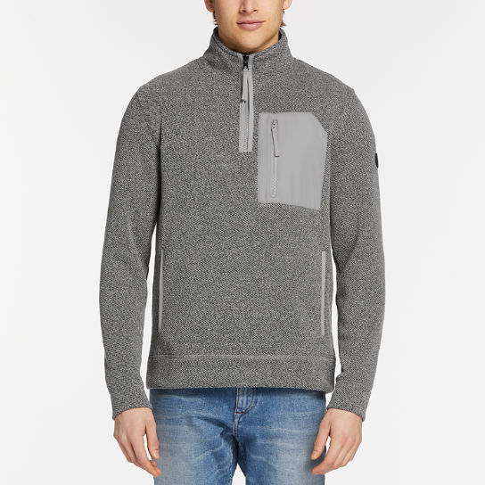 Men's Mt. Cardigan Quarter-Zip Fleece Sweater