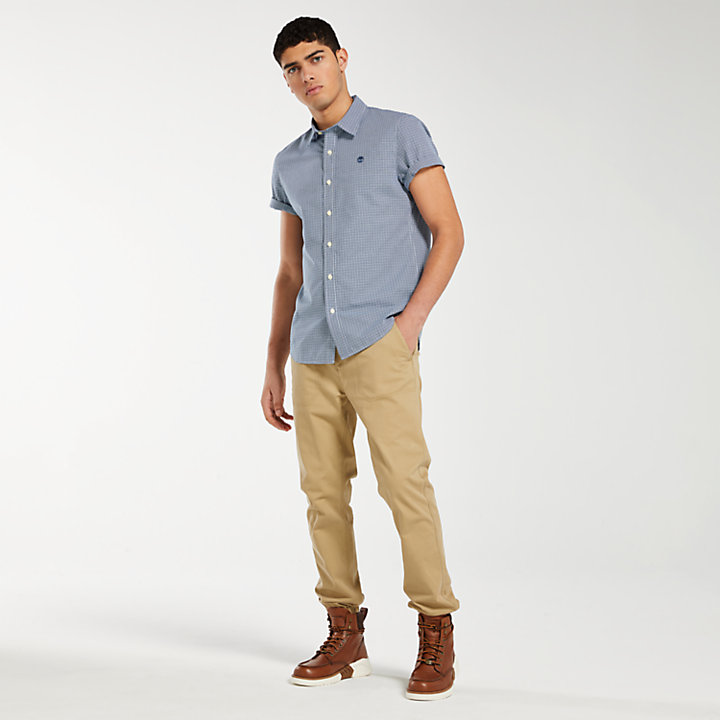 Men's Indian River Slim Fit Gingham Shirt-