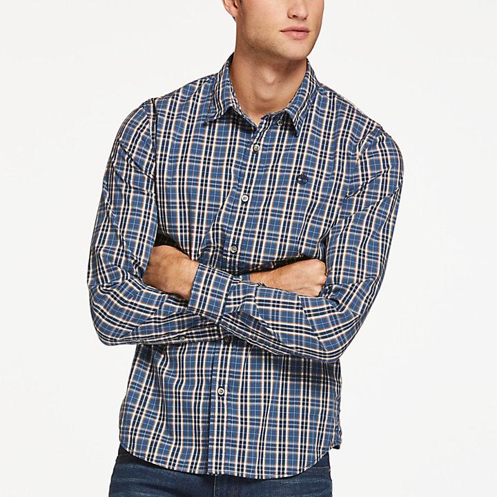 Men's Saco River Slim Fit Stretch Check Shirt-