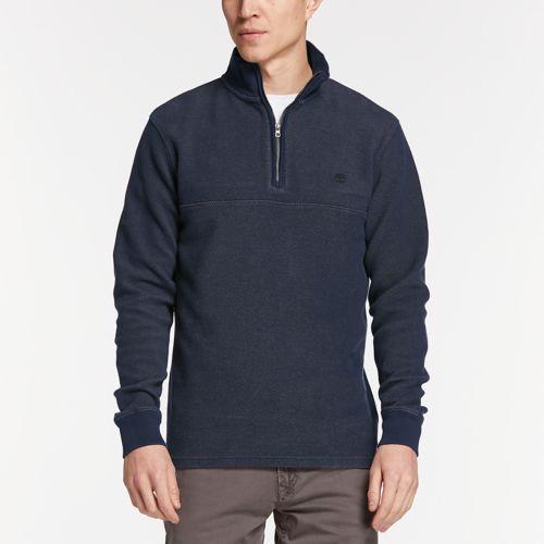 Men's Fort River Quater-Zip Henley Shirt-