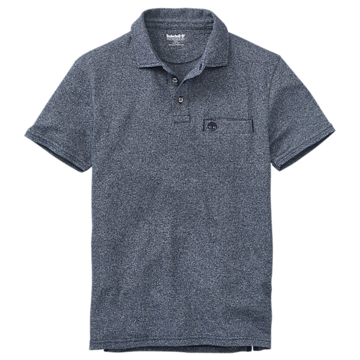 Men's Faded Slim Fit Polo Shirt-