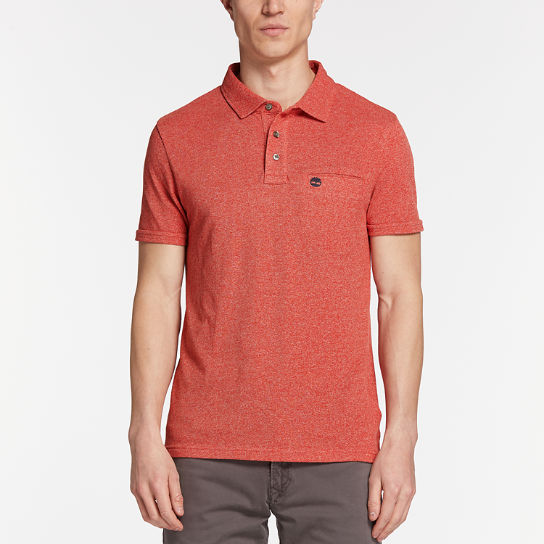 Men's Faded Slim Fit Polo Shirt