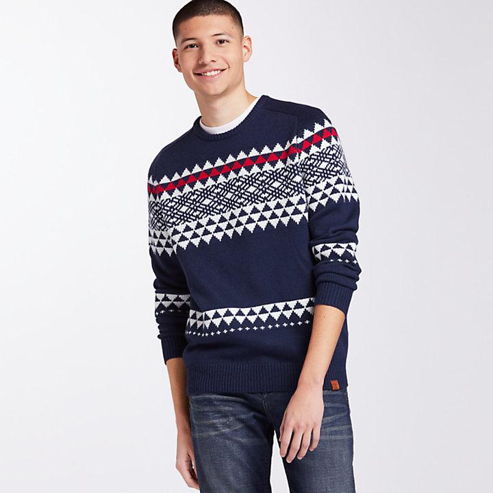 Men's Cashmere Blend Fairisle Sweater-