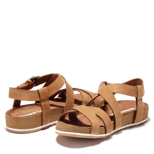 Women's Malibu Waves Ankle Strap Sandals-