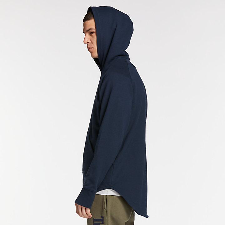 Men's Camo-Lined Applique Hoodie-