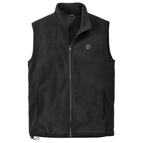Men's Essential Full-Zip Fleece Vest