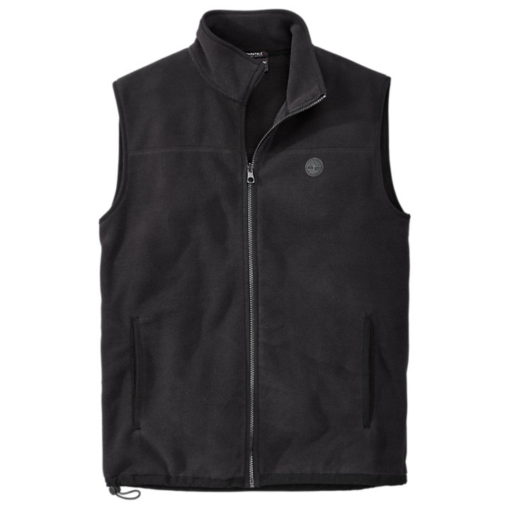 Men's Essential Full-Zip Fleece Vest-