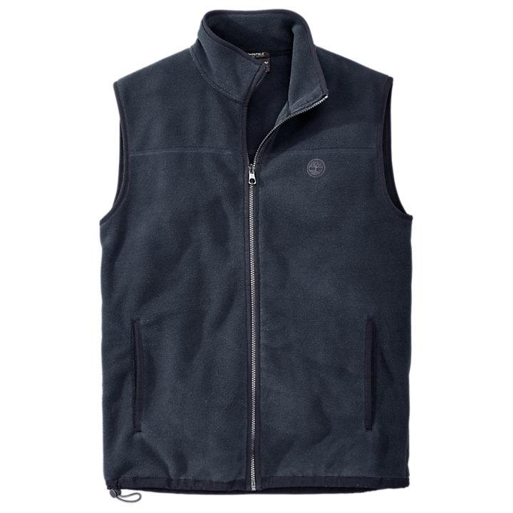 Men's Essential Full-Zip Fleece Vest-