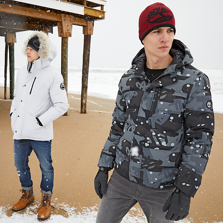 Men's Goose Eye Down Jacket-