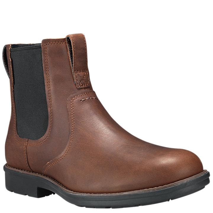 Men's Carter Notch Plain-Toe Chelsea Boots-