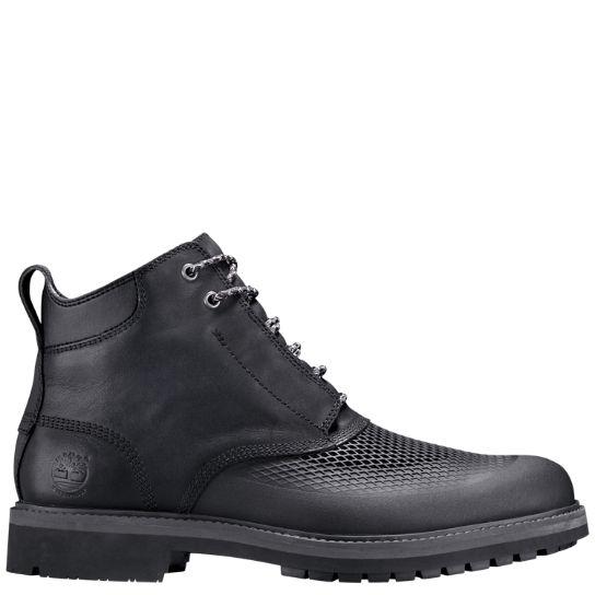 timberland stormbuck chukka boots black