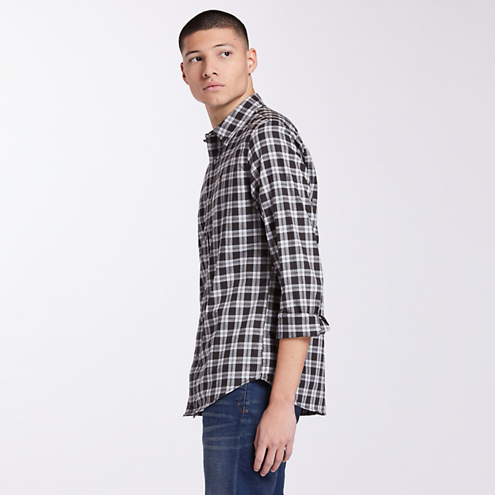 Men's Essential Slim Fit Check Shirt-