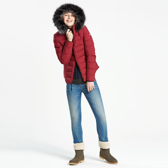 Women's Short Quilted Down Jacket