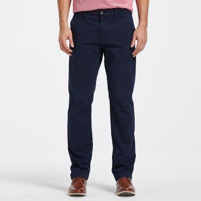 Men's Squam Lake Straight Fit Stretch Chino Pant