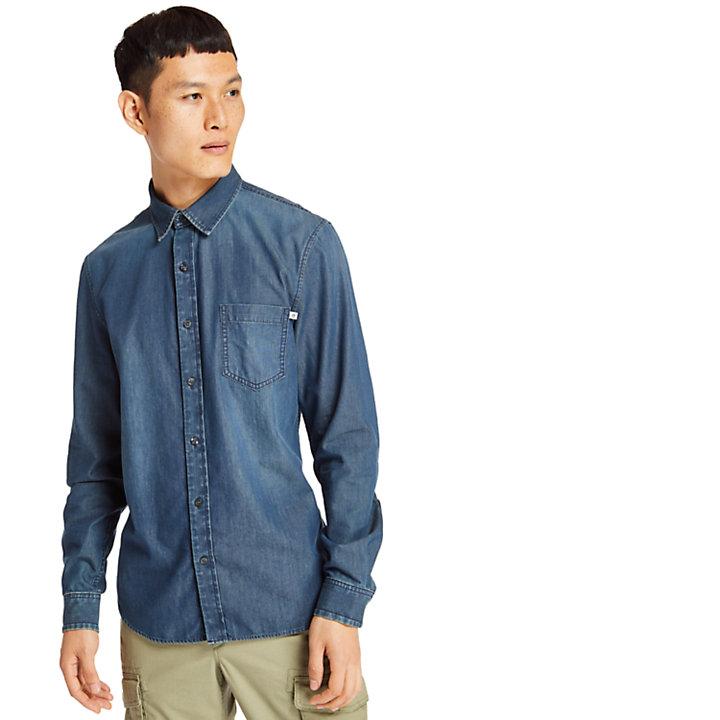 Men's Indian River Slim Fit Denim Shirt-