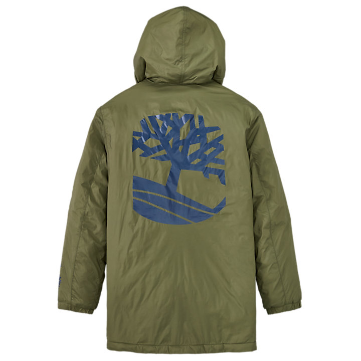Men's Logo Graphic Insulated Coat-