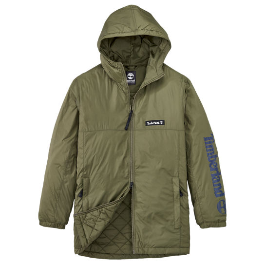 Men's Logo Graphic Insulated Coat