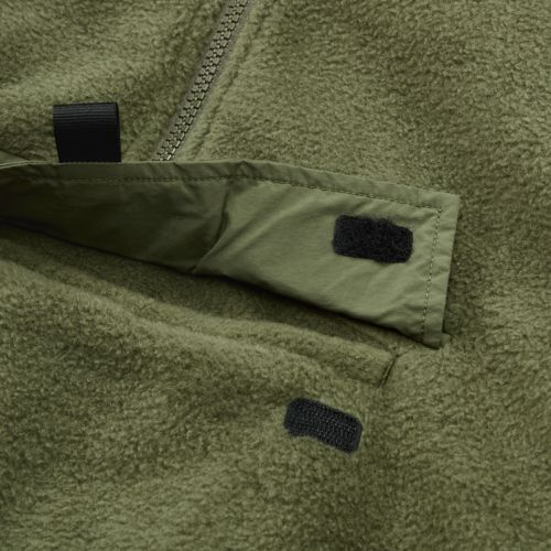 Men's Quarter-Zip Funnel Neck Fleece Shirt-