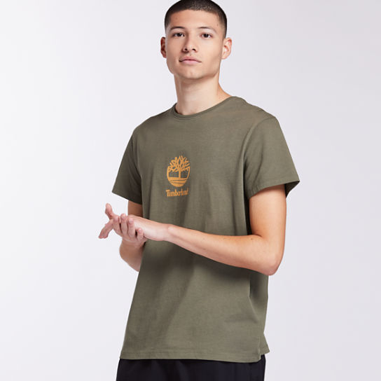 Men's Centered Tree Logo T-Shirt