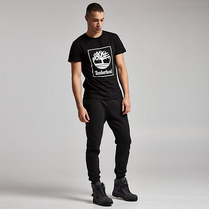 Men's Squared Tree Logo T-Shirt-