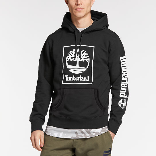 Men's Squared Classic Tree Logo Hoodie