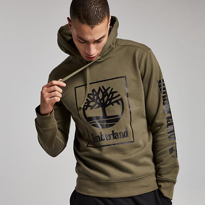 Men's Squared Classic Tree Logo Hoodie-