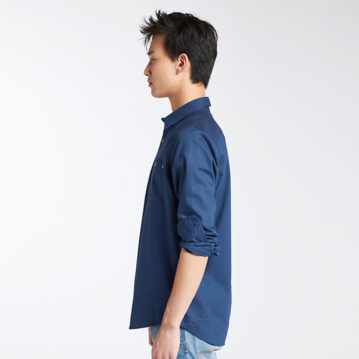 Men's Spicket River Lightweight Twill Shirt-