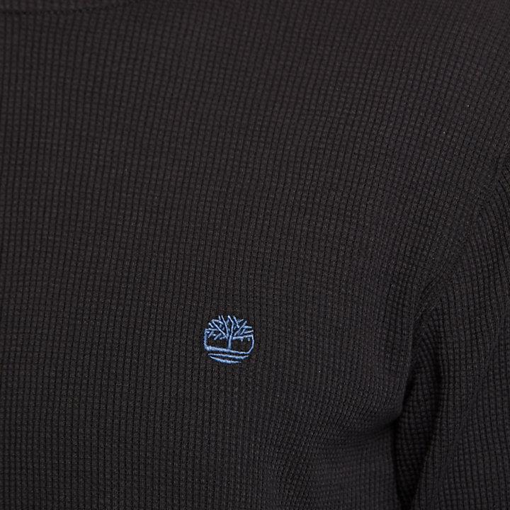 Men's Wharf River Waffle-Knit Hoodie-