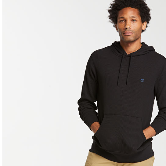 Timberland Men S Wharf River Waffle Knit Hoodie