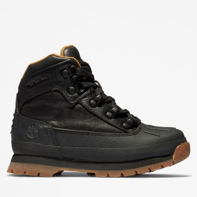 Junior Shell-Toe Euro Hiker Boots