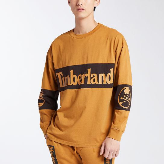 Timberland   Men's Timberland X mastermind Long Sleeve Logo
