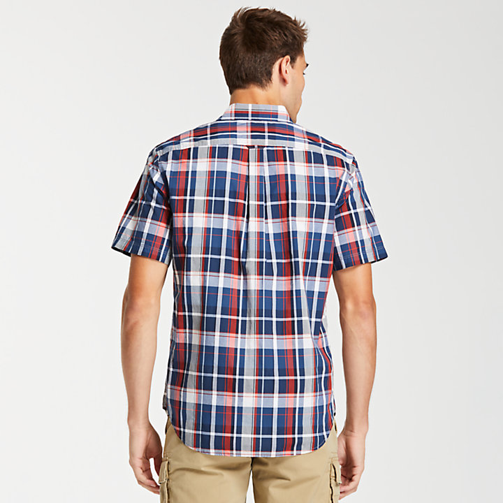 Men's Small Check Madras Shirt-