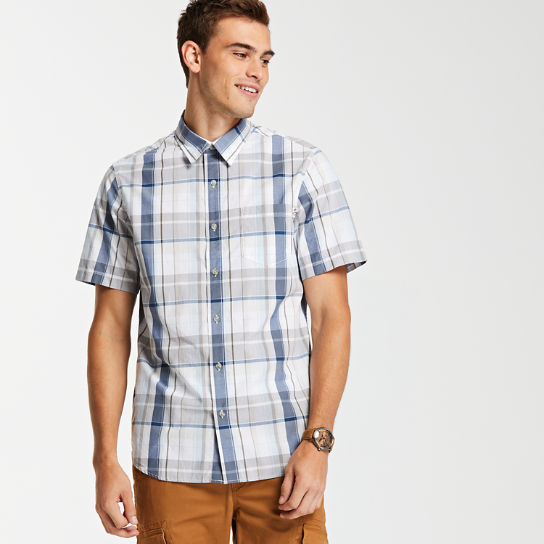 Men's Small Check Madras Shirt
