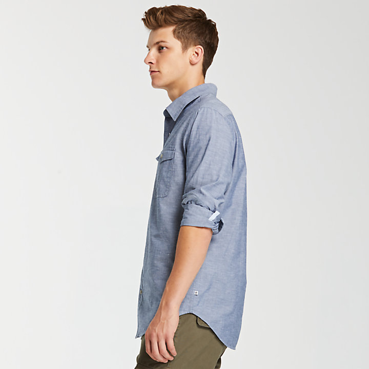 Men's Merrimack River Chambray Shirt-