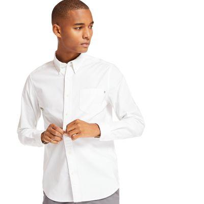 Men's Long Sleeve Stretch Oxford Shirt