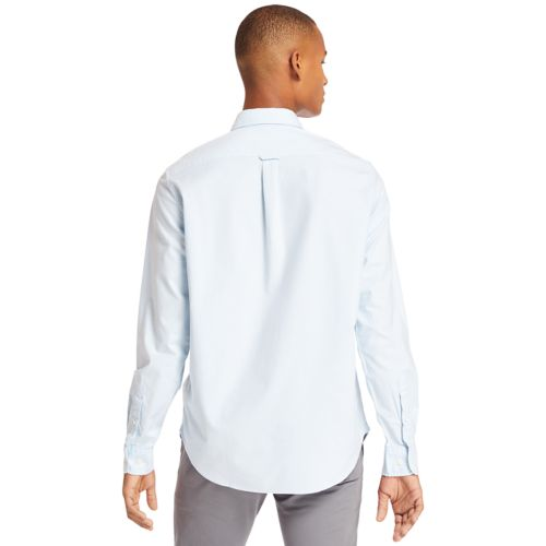 Men's Long Sleeve Stretch Oxford Shirt-