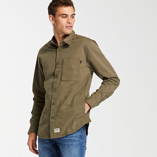 Men's Stretch Utility Travel Shirt