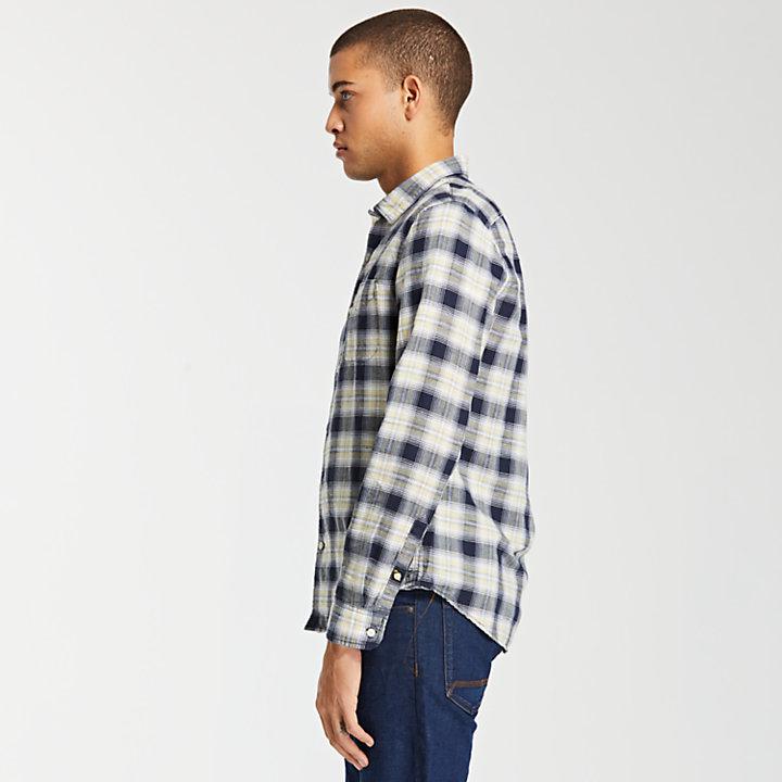 Men's Mill River Slim Fit Linen Blend Shirt-