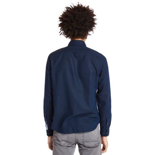 Men's Slim Fit Mill River Cargo Shirt-