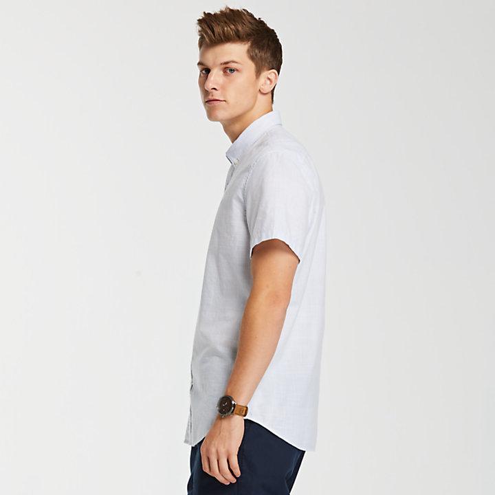 Men's Slim Fit Woven Oxford Shirt-