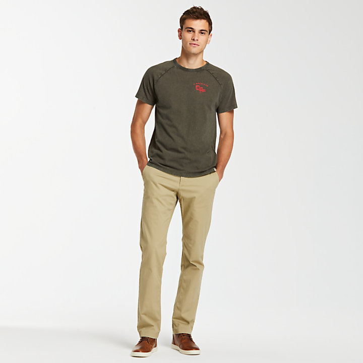 Men's Squam Lake Straight Fit Stretch Chino Pant-
