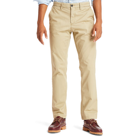 Men's Squam Lake Straight Fit Stretch Chino Pant