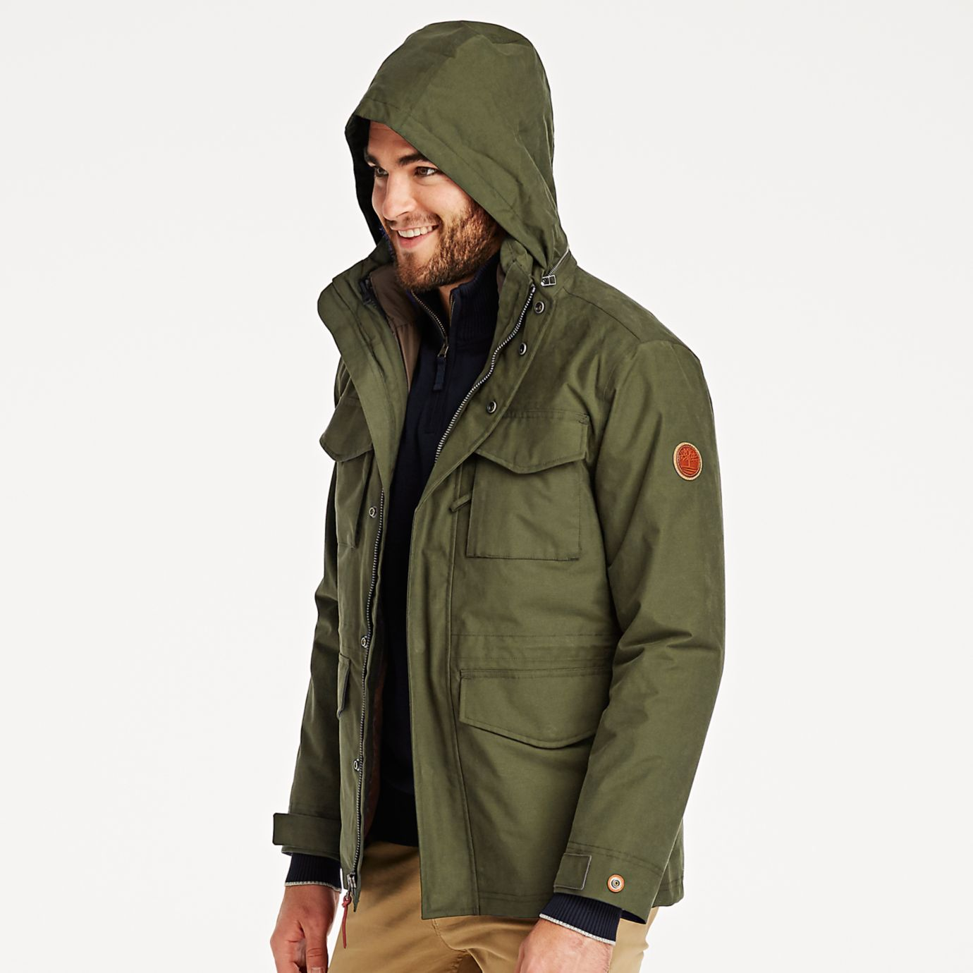 Timberland Men S 3 In 1 Jacket System