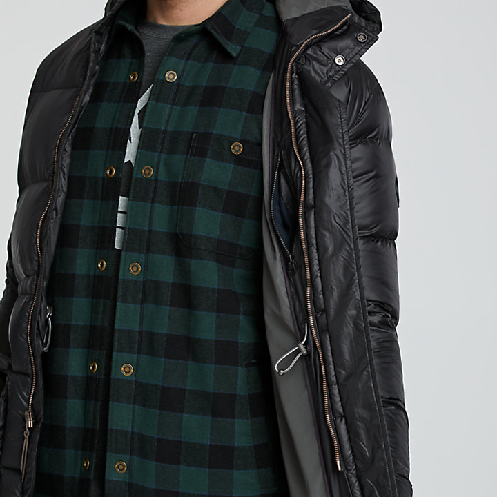 Men's Goose Eye Down Parka-