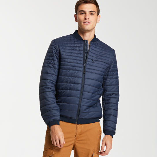 Men's Quilted Convertible Travel Jacket